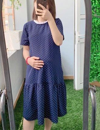 Đầm bầu công sở cho mẹ bầu đáng yêu