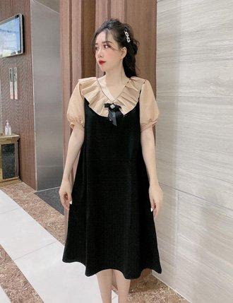 Váy bầu hàn quốc TM44 phong cách thời thương