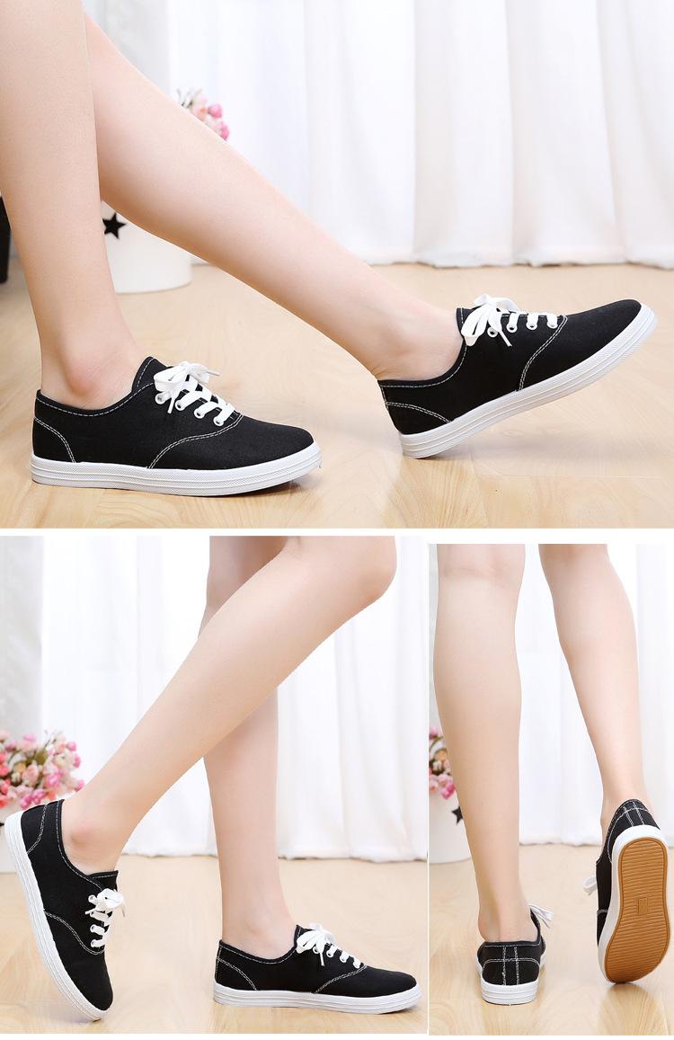 Giày nữ học sinh sinh viên màu đen