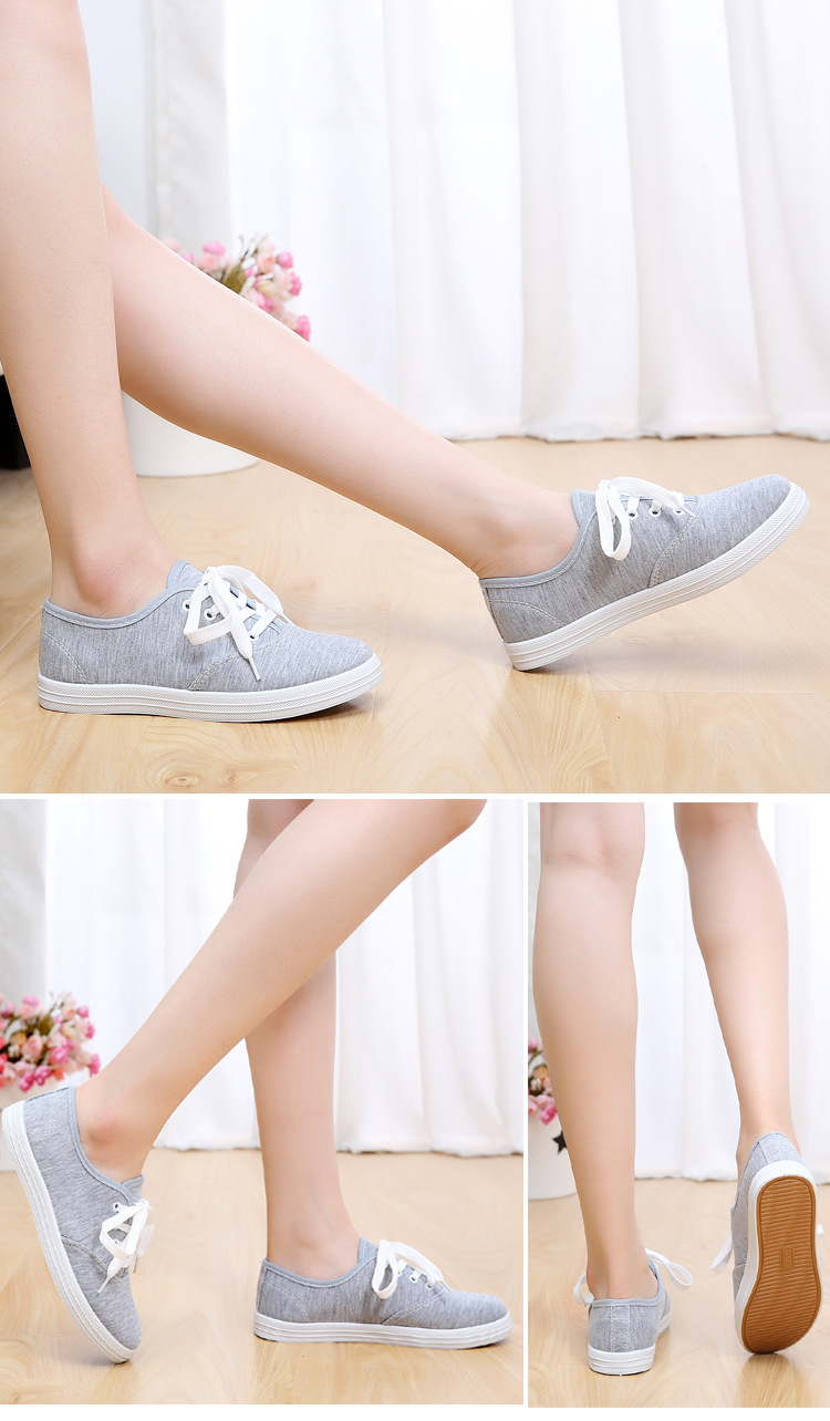 Giày nữ học sinh sinh viên màu lông chuột