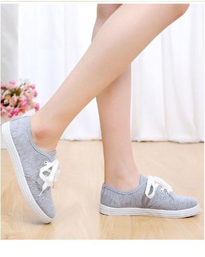 Giày nữ học sinh sinh viên màu lông chuột sở thích