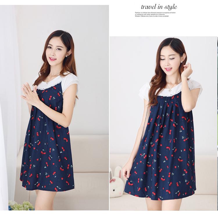 Hình ảnh váy bầu Hàn Quốc sành điệu