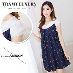 Váy bầu Hàn Quốc Cherry sành điệu