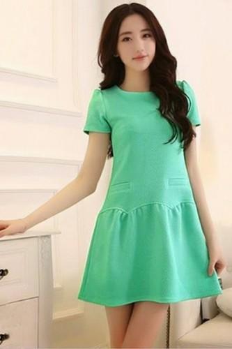 Váy bầu mùa hè cho người thấp