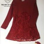 Đầm bầu cao cấp TM59 xu hướng sành điệu
