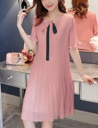 Đầm bầu suông công sở dâp ly siêu mát TM1130
