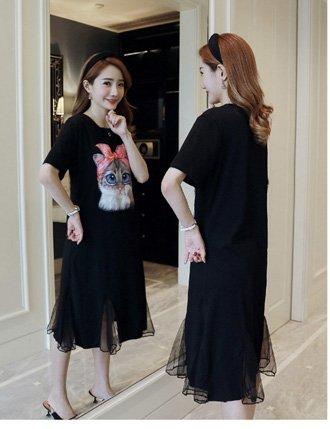 váy bầu công sở cho con bú siêu đẹp