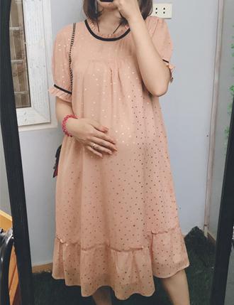 Đầm bầu Hàn Quốc Tm34 siêu kute