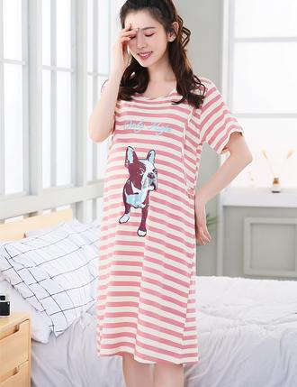 Đầm bầu mặc nhà cho con bú