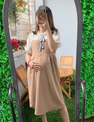 Đầm bầu cóng sở thiết kế TM2702