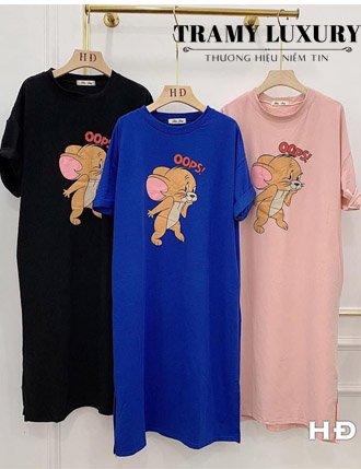 Đầm bầu suông mặc nhà TM0607