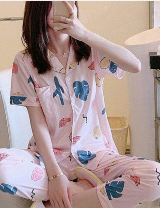 Đồ bộ sau sinh pijama dễ thương
